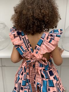 Baby African Clothes, African Dresses For Kids, Latest African Fashion Dresses, African Print Dresses, African Print Fashion, Little Girl Dresses, Ankara Styles For Kids, Kids Dress Wear, Baby Girl Dress Patterns