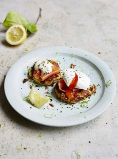 Smoked Salmon and Potato Cakes -like brunch at Imperial