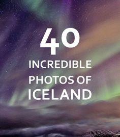 """40 Incredible Photos of Iceland  """"Aurora over Ísafjörður."""" BudgetTravel.com"""