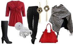 Trendy Plus Size Casual Outfits for Apple Body Types
