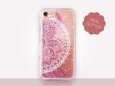 Mandala Glitter Phone Case  Phone Case  iPhone 8 Case