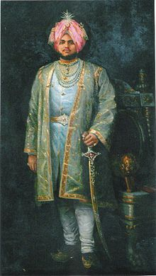 Sir Jagatjit Singh Bahadur GCSI GCIE GBE November 1872 – 19 June was the ruling Maharaja of the princely state of Kapurthala in the British Empire of India from 1877 until his death in Mysore, Portraits From Photos, Old Photos, Sanskrit, Princesa Victoria, Royal Indian, Royal House, Royal Jewels, Indian Art