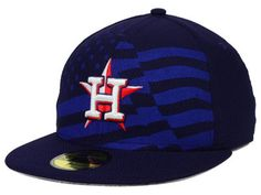 Houston Astros MLB 2015 July 4th Stars & Stripes 59FIFTY Cap Hats