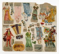 78.14116: Cinderella | paper doll | Paper Dolls | Dolls | National Museum of Play Online Collections | The Strong