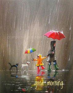 Quotes Discover Cute rain art by Pete Rumney Street Art Busy Street Rain Street Rain Art Umbrella Art Umbrella Painting Walking In The Rain Acrylic Art Dog Art Art And Illustration, Rain Art, Umbrella Art, Umbrella Painting, Inspiration Art, Acrylic Art, Dog Art, Cute Art, Painting & Drawing
