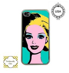 Barbie Warhol iphone5 case apple iphone5 Case Marilyn Monroe case.  via Etsy.