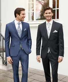 Want a modern wedding suit? This collection offers a mix and match of fabrics and styles to suit you. We love the idea of the groom and groomsmen wearing different coloured suits, check out the collection @ Mia Sposa Huddersfield 01484421900