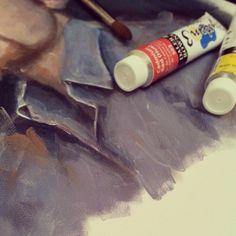 #Acrylic on #canvas #Portrait #painting #Drawing #digitalPainting #Sketching #wacom #corelpainter #art #illustration #draw #artist #sketch #sketchbook #Pencil #pen #instaart #gallery #creative #instagram #MyDubai #UAE #Dubai #رسم #رسامين_العرب #كلنا_رسامين #رسامين