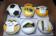 Real Madrid Cupcakes