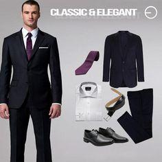 #FashionbySIMAN  El negro es un color clásico que no puede faltar en tu guardarropa. Combina perfectamente con cualquier color de camisa, pero si lo que buscas es crear un contraste moderno elígelas en tono claro y con estampados micros. #modaElSalvador #getthelook #InStyle
