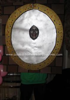 Homemade Magic Mirror Costume: Well, Halloween was rolling around the corner again and it was time to start brainstorming! This year I came up with the idea of being a Magic Mirror.