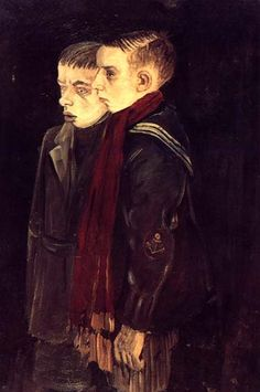 Otto Nagel - Boys from the Wedding district of Berlin, 1928