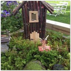 fairy house (not in English, but the pictures are inspiration)
