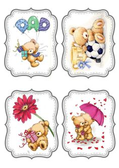© Wild Rose Studio. Mother's Father's Day gift tags -- just crop down to the one you want to use in CW