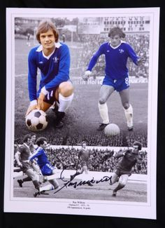 New-Ray-Wilkins-Chelsea-Signed-12x16-Football-Montage