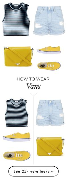 """""""Trending 624"""" by ayannap on Polyvore featuring Topshop, A.L.C., Vans and Alexander Wang"""
