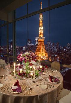 ザ・プリンス パークタワー東京(The Prince Park Tower Tokyo) 煌めくジュエルビューがふたりを祝福