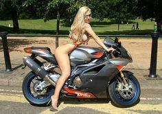 #babe #chick #motor #motorcycle #biker #girl #aprillia