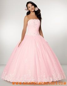quinceanera dresses pink and white ruffles | ... Gown Sweetheart ...