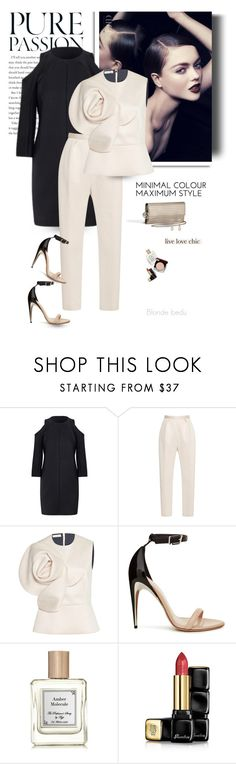 """A radiant woman will always be seen by others"" by blonde-bedu ❤ liked on Polyvore featuring Roland Mouret, Delpozo, Chanel and Guerlain"