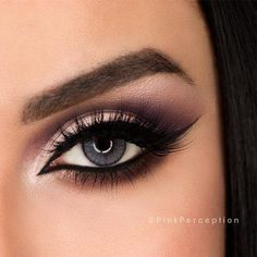 Do you have gray eyes and still do not know which make-up is the most flattering even after years of experimentation? Then our photo gallery and some make-up tips will. Can Makeup, Cute Eye Makeup, Wedding Eye Makeup, Unique Makeup, Sexy Makeup, Stunning Makeup, Makeup Tips, Beauty Makeup, Makeup Looks