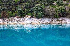 Naturaleza piedra y agua | Nature stone and water  Laguna Lengua Ossa de Montiel #nature #photography