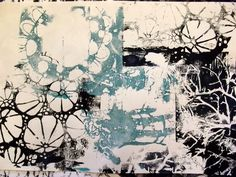 Image result for gelli plate printing black and white