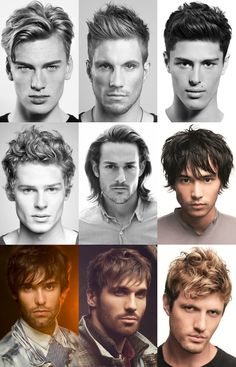 Men' Mid To Long Length Summer Holiday Hairstyles- long enough to be slightly unkempt and easier to style in summer.