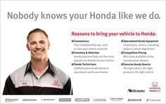 And if you're driving something other than we service all makes & models. So call us today - you won't be disappointed. Discover the Okotoks Honda Difference. Tyre Brands, Disappointed, Knowing You, Honda, Models, Role Models, Modeling, Model, Templates