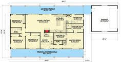 Country House Plan with Upstairs Game Room - 28909JJ | Architectural Designs - House Plans