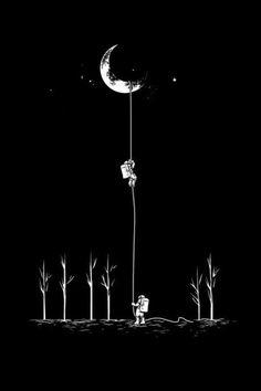 Moon ... iphone wallpaper