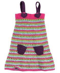 Sommerkleid für Kinder zum selber häkeln
