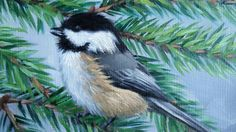 This is an open edition print from my original painting, Pair of Chickadees. Print size: 8 x 10 or 11 x 14 with an ivory mat. Its printed on archival paper with Epson Ultrachrome archival inks and will conveniently fit into a standard sized frame. Shipped flat in a sealed clear