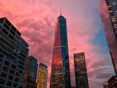 NYC Sunset by Jose Tutiven #nycfeelings