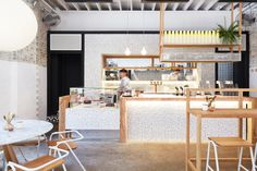 The Rabbit Hole (Sydney, Australia), Café  Matt Woods Design