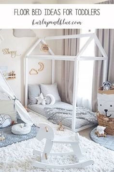 Floor bed ideas and inspiration for babies and toddlers!