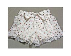 Cute girls shorts sewing pattern GIDGET SHORTS by FelicityPatterns