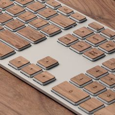 lazerwood keyboard keys yes please