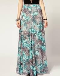 floral chiffon skirt - Google Search