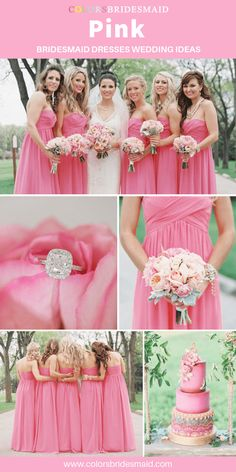 500+ styles pink bridesmaid dresses short and long fbbe54d8d842