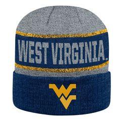 1321f13a6dd Top of the World WVU Below Zero II Cuff Knit Hat