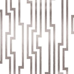 Velocity Wallpaper in White and Silver design by Candice Olson