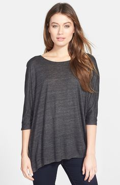 Relaxed tunic tops with skinny jeans are a fall go-to