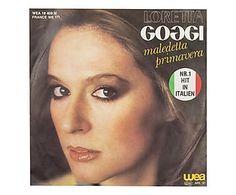 Disco 45 giri Loretta Goggi, Maledetta Primavera, 1981