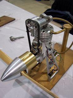 Db A F Fa Ada Fc A B on Model Airplane Engine The Four Stroke Glow