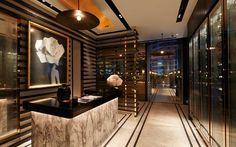 David Collins - Vogue Lounge, MahaNakhon CUBE, Bangkok, Thailand