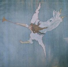 Jacqueline Bouvier Kennedy's angel painting