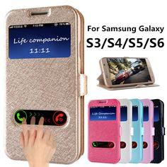 플립 커버 case 대한 samsung galaxy s3 s4 s5 s6 pu 가죽 전화 가방 스탠드 기능 galaxy i9300 i9500 i9600 g9200 케이스
