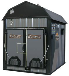The Central Boiler Pallet Burner is designed to load full pallets at a time. Efficient, safe, and made to the standards you've come to expect from a Central Boiler. Outdoor Wood Burning Furnace, Outdoor Wood Burner, Outdoor Stove, Pole Barn House Plans, Pole Barn Homes, Pallet Barn, Pallet Wood, Barn Wood, Pellet Burner