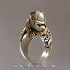 31 Ideas For Jewerly Silver Rings Art Nouveau Gold Pearl Ring, Pearl Jewelry, Jewelry Art, Antique Jewelry, Jewelry Rings, Silver Jewelry, Vintage Jewelry, Jewelry Accessories, Jewellery